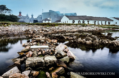 Port Ellen Warehouse and the Maltings, Isle of Islay.