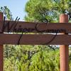 Whispering Pines Sign,Gate-16