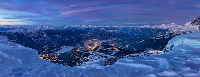 Whistler from Whistler Mountain
