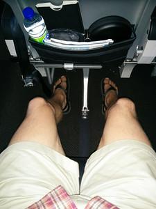Premium Economy Leg Room