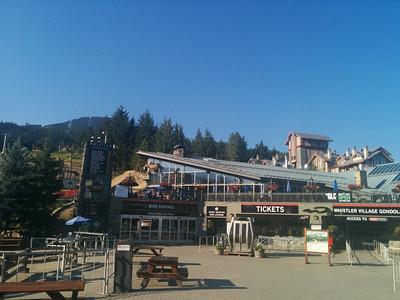 Whistler Village Gondola building