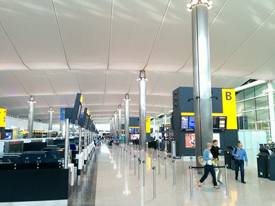 Checkin Inside the new LHR T2