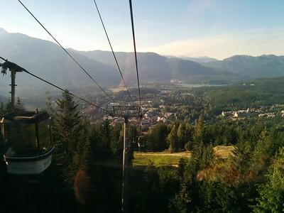 Still on the gondola