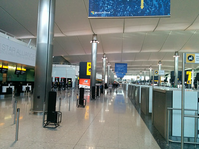 Check-in in LHR T2