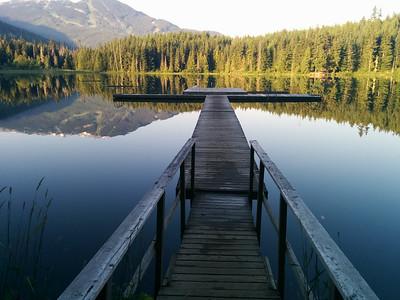 Lost Lake pontoon
