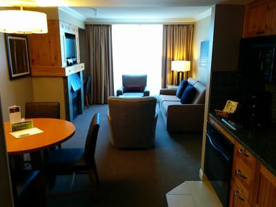 My hotel lounge