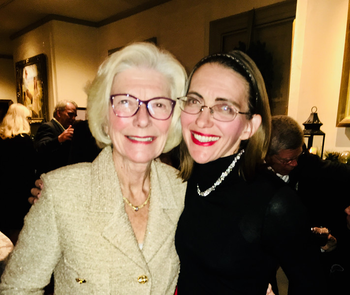 Whistler House's  Margaret Palm with daughter Libby Often, both of Lowell