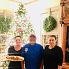 From the Olympia Restaurant, Wendy Walkowicz, owner Arthur Tingas and Andrea Moldovan, all of Lowell