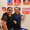 Julissa and new artist Gabby Pineda of Dracut
