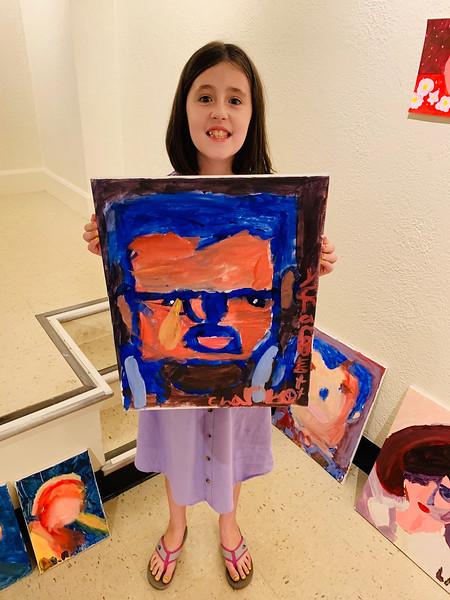 Artist Charlotte Darcy of Tyngsboro