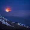 Lunar Eclipse Over Sproatt Mountain