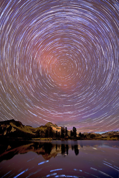 Elfin Lakes Star Trail