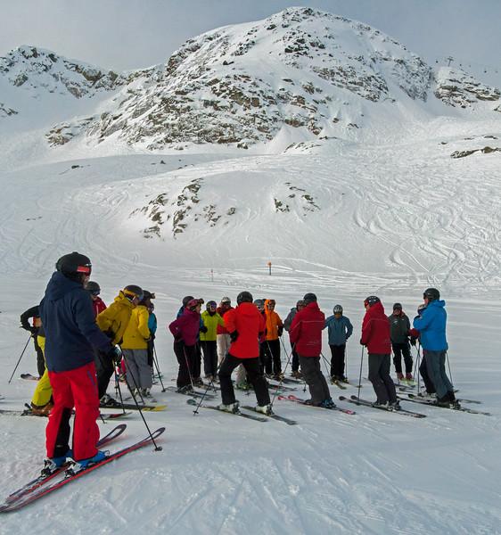 ISHA Ski Day 12 pan (bottom of the Saddle)