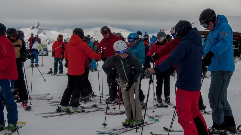 ISHA Ski Day 40 (Top of Harmony)