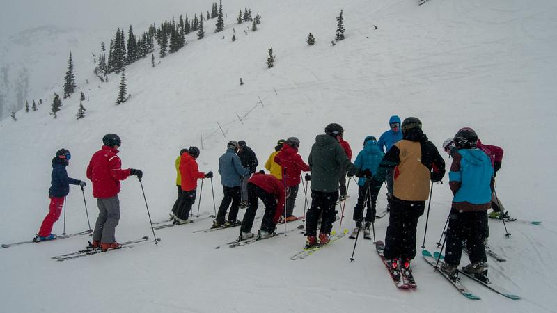 ISHA Ski Day 46 (Blackcomb deciding last run)