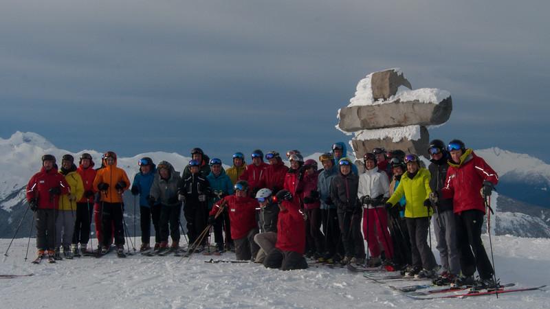 ISHA Ski Day 08 (group picture)