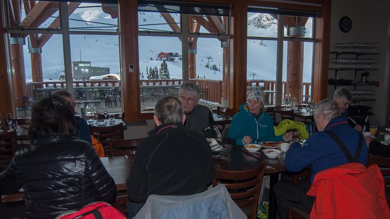 ISHA Ski Day 02 (breakfast)