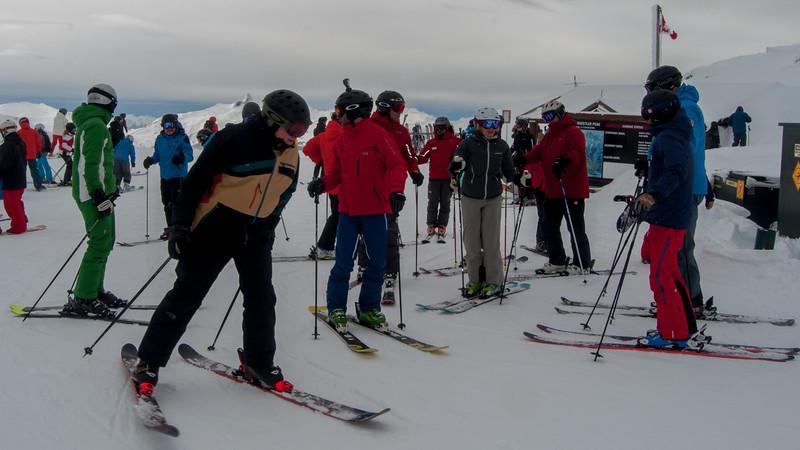 ISHA Ski Day 41 (Top of Harmony)