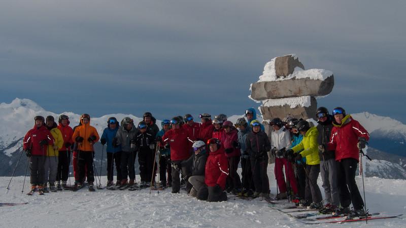 ISHA Ski Day 07 (group picture)