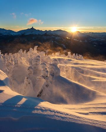 Whistler Sunsets