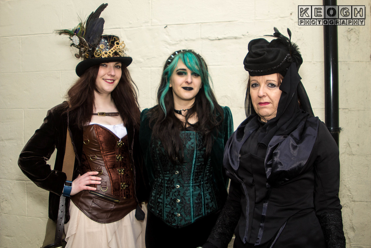 Black, Corset, Female, Goth, Gothic, Green, Headress, Jacket, Lace, Velvet, WGW, Whitby, Whitby Goth Weekend, Whitby Gothic Weekend April 2017, Woman, Black, Blouse, Bronze, Brown, Clasps, Clockwork, Cogs, Copper, Corset, Cream, Dress, Feathers, Goth, Gothic, Hat, Jacket, Leather, Skirt, Steampunk, Top Hat, WGW, Whitby, Whitby Goth Weekend, Whitby Gothic Weekend April 2017