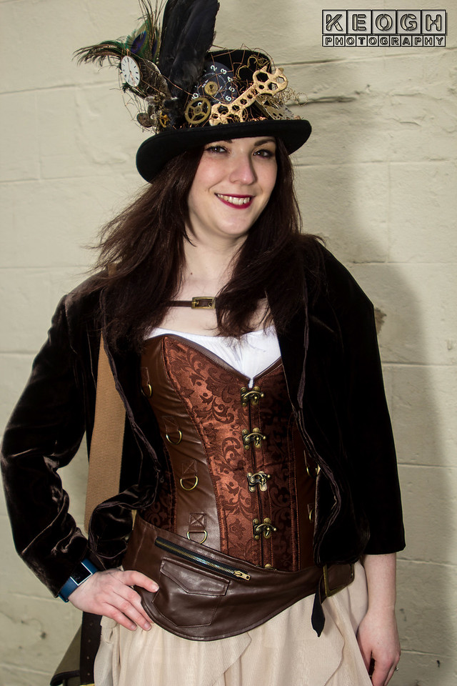 Black, Blouse, Brown, Clasps, Clockwork, Cogs, Corset, Cream, Dress, Feathers, Goth, Gothic, Hat, Jacket, Leather, Skirt, Steampunk, Top Hat, WGW, Whitby, Whitby Goth Weekend, Whitby Gothic Weekend April 2017, Bronze, Copper,