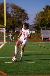 Girls Soccer Senior night-6