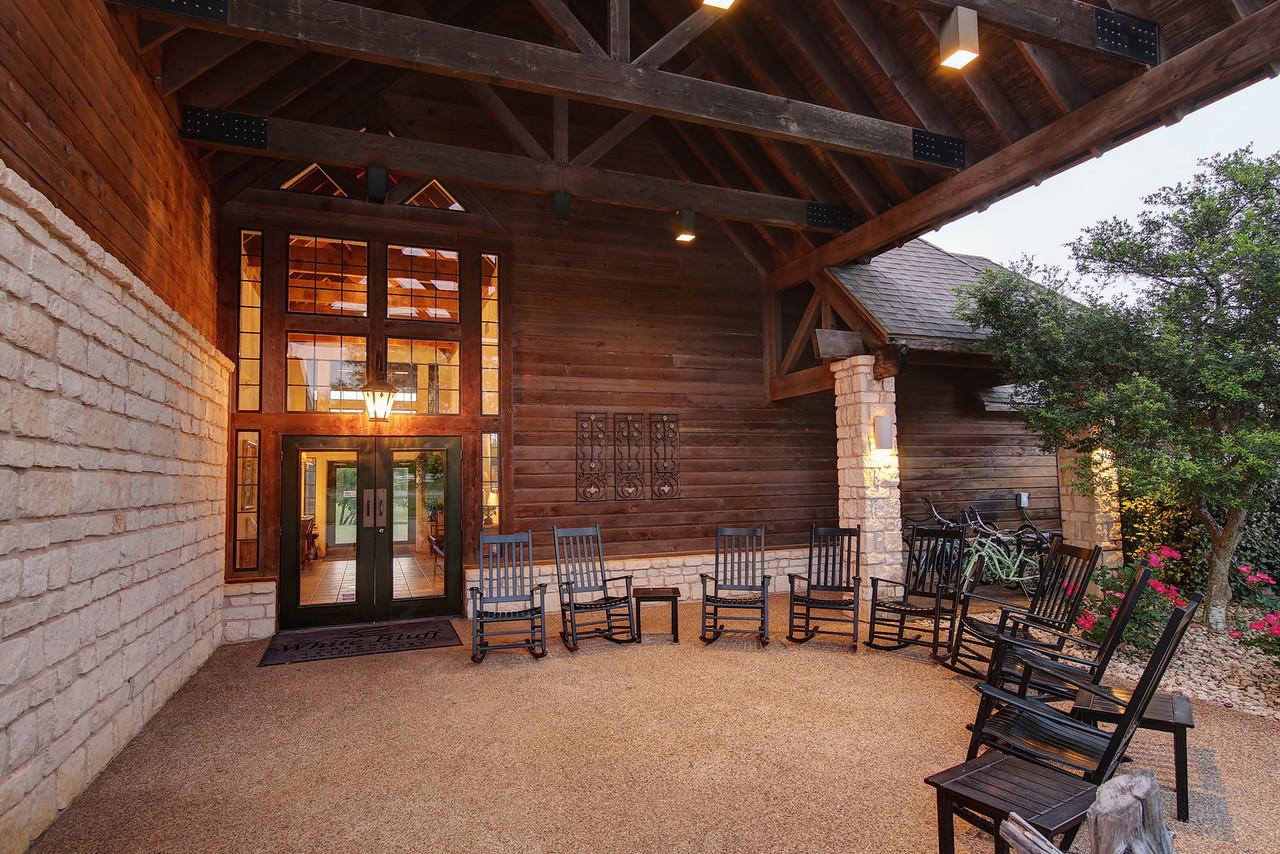 Club house entry NC