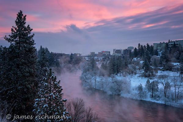 Spokane Winter Scenes 2015-16