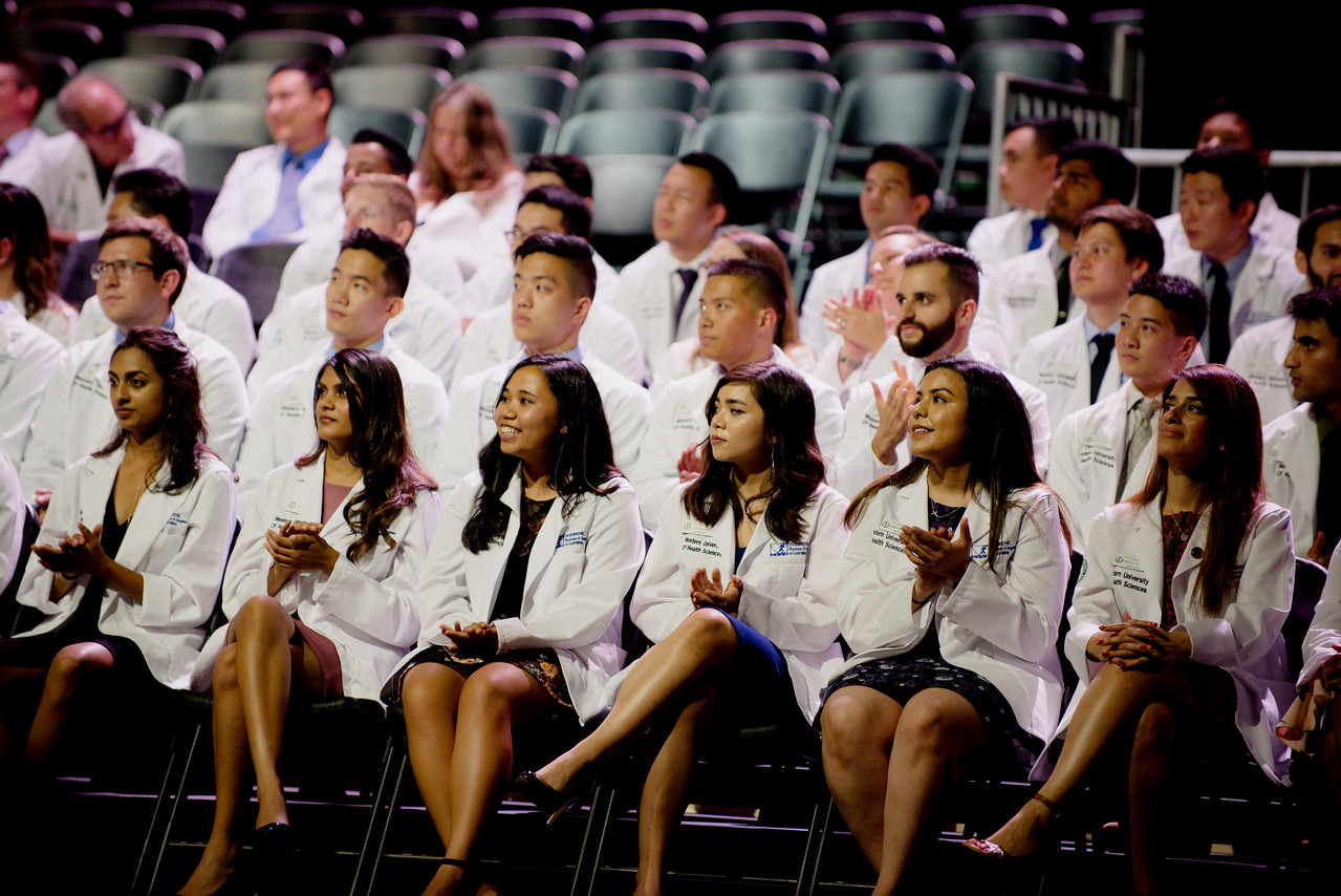 College of Osteopathic Medicine of the Pacific White Coat ceremony