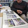 25 year ago, 1993, Leominster Councilor Rick Marchand was working at New England Specialty Printing when they got the contract to make 12,000 Easter eggs for the White House's Easter Egg Roll. Marchand talks about how he got the job and what it took to make and mail 12,000 eggs on Wednesday in the council chambers in Leominster City Hall.  SENTINEL & ENTERPRISE/JOHN LOVE