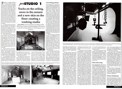 Part 1 of a feature on the building of my first studio in 1990