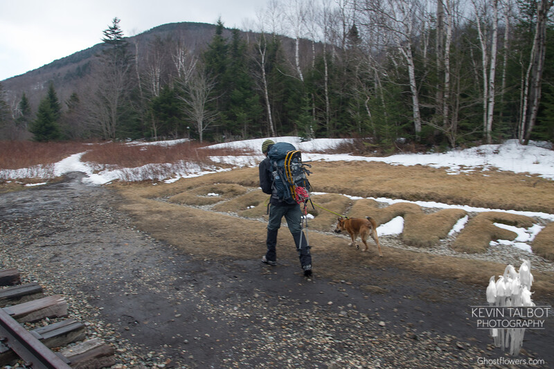 David and Coco head out to Coco's first mountain hike...
