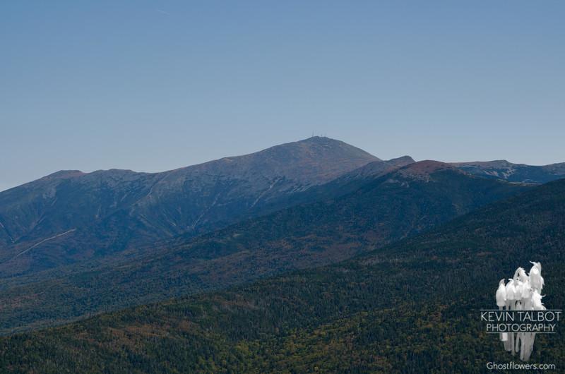 Zoom of Mount Washington.