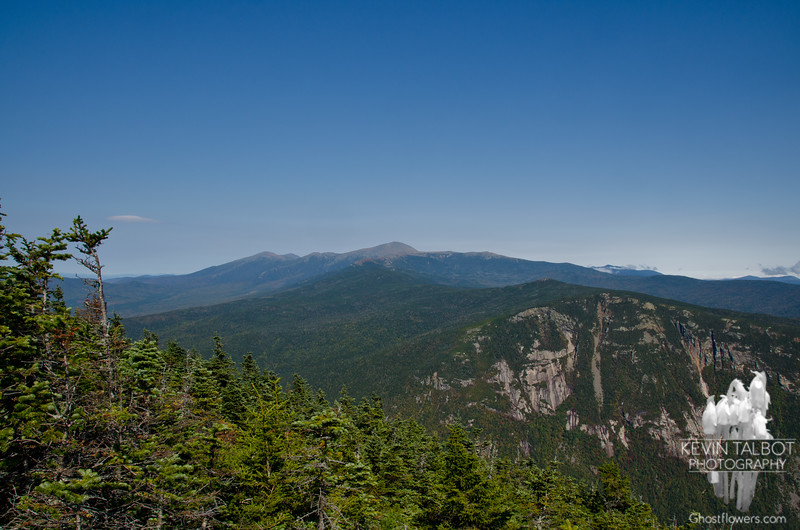View of the Presis and Webster Cliff from Mount Willey.