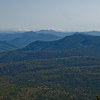 Zoom of Mount Chocorua from Mount Willey.