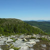 "Last look back at ""The Plateau"" from Baldface Knob."