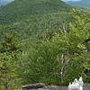 View of Eastman Mountain as we ascend the southern ledges of Baldface Knob. Note the foreground.