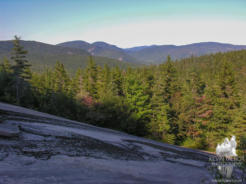 View north towards Evan's Notch.