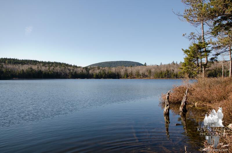 Beautiful Round Pond.