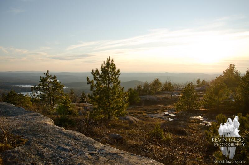 Southwest views from near Straightback 1.