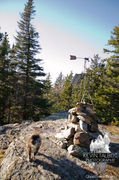 Windmill on Mount Mack.