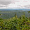 View southwest from Gunstock Mtn. Trail.