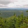 View southwest from Gunstock Mtn. Trail.