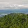 View back to Gunstock from firetower.