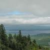 View across Lake Winnepesaukee to the Ossipee Range from Gunstock Mtn.