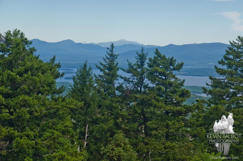 Northeast to Mount Washington.
