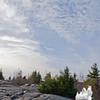 Mackerel skies.