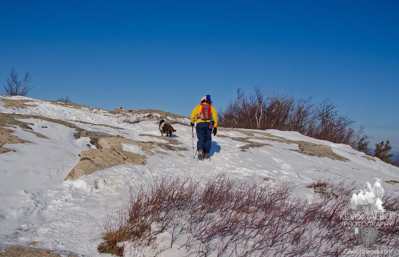 Short scramble near the summit.
