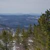 Southwest-Monadnock right of center on horizon...